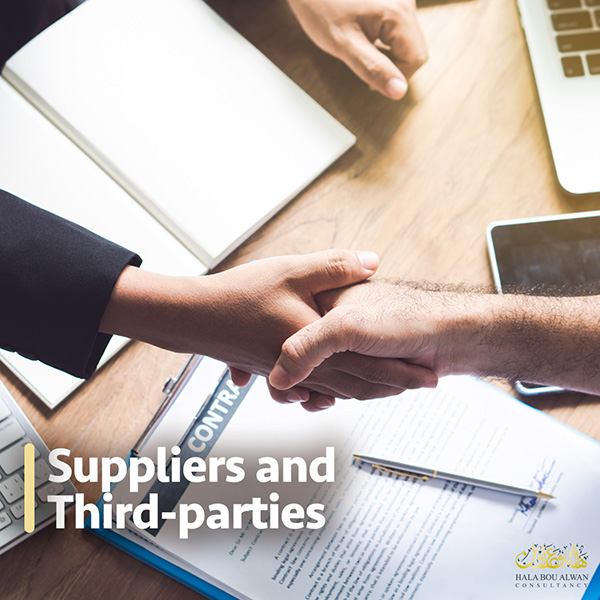Suppliers and Third-parties